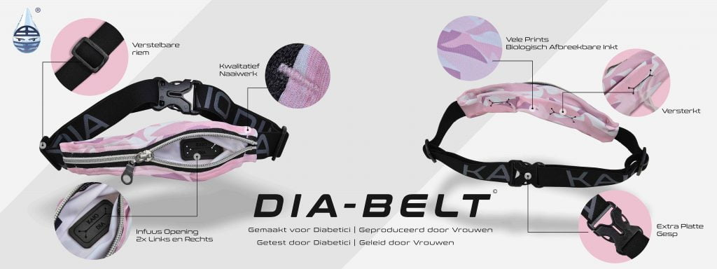 Dia-Belt de perfecte buidel voor je pomp